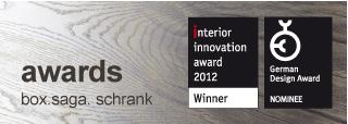 innovation award: BOX.saga. gewinnt den Interior Innovation Award der imm cologne 2012